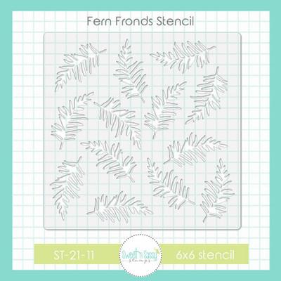 Fern Fronds Stencil