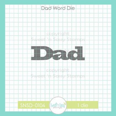 Dad Word Die