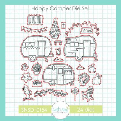 Happy Camper Die Set