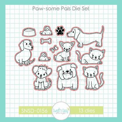 Paw-some Pals Die Set