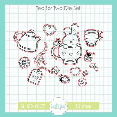 Tea for Two Die Set