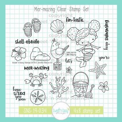 Mer-Mazing Stamp & Die Bundle