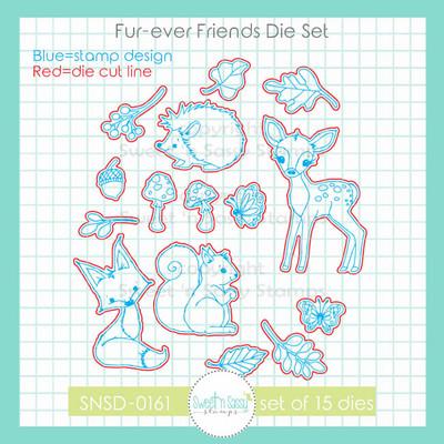 Fur-ever Friends Die Set