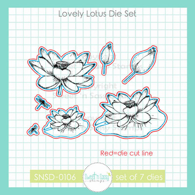 Lovely Lotus Die Set