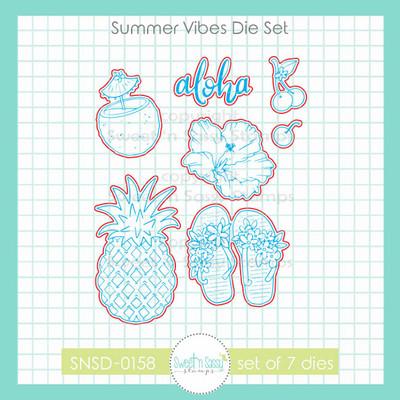 Summer Vibes Die Set