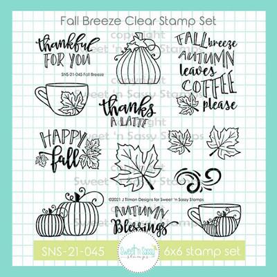 Fall Breeze Clear Stamp Set