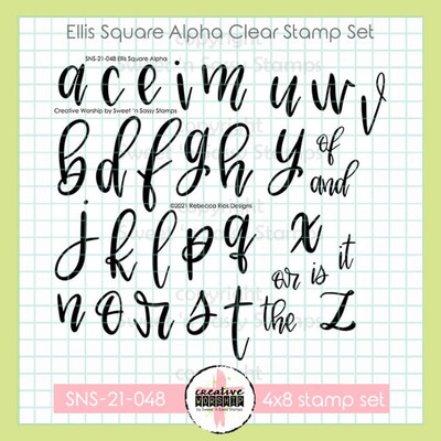 Creative Worship: Ellis Square Alpha Clear Stamp Set