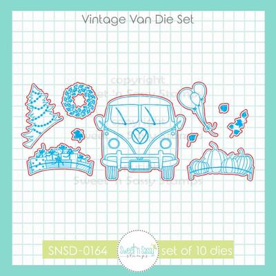 Vintage Van Die Set