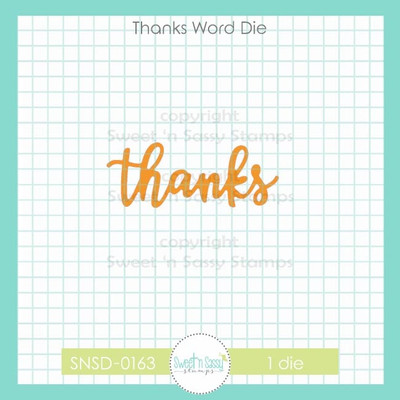 Thanks Word Die