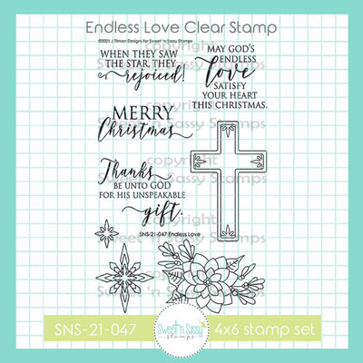 Endless Love Clear Stamp Set