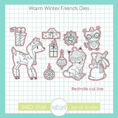 Warm Winter Friends Die Set