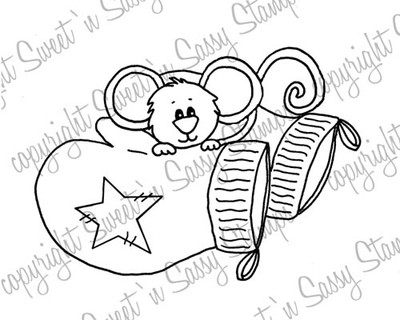 Cocoa's Mittens Digital Stamp