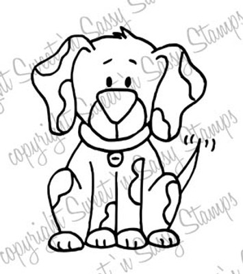 Spot the Dog Digital Stamp