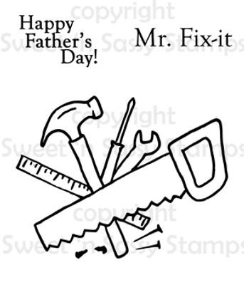 Mr. Fix-it Digital Stamp