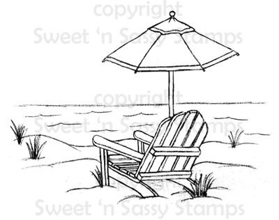 Ocean Paradise Digital Stamp