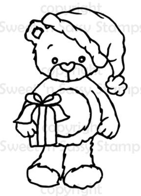 Rhubarb Santa Digital Stamp