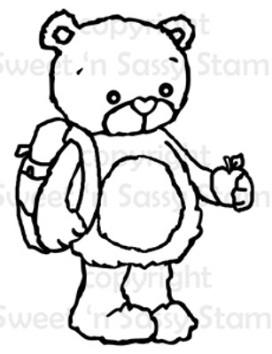 Rhubarb Back to School Digital Stamp