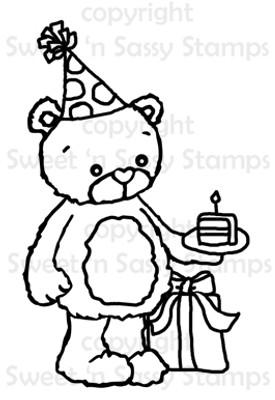 Rhubarb's Birthday Digital Stamp