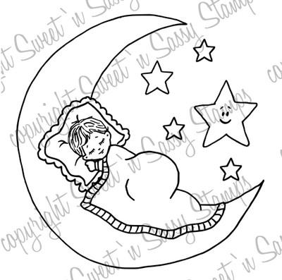 Sweet Dreams Digi Stamp