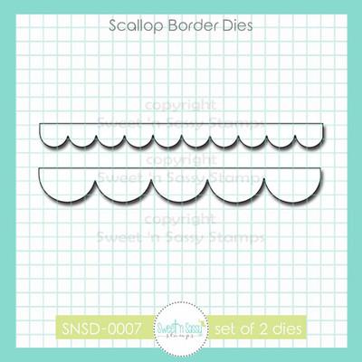 Scallop Border Dies