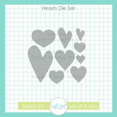 Hearts Die Set