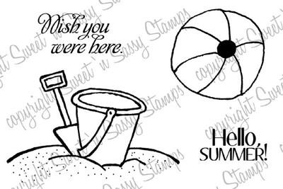 Hello Summer Digital Stamp Set