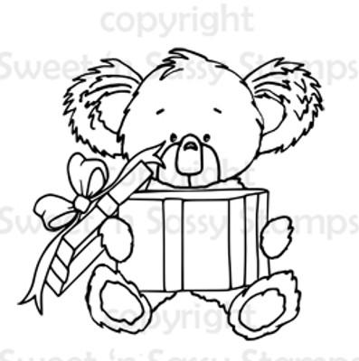 Kiwi Koala's Gift Digital Stamp
