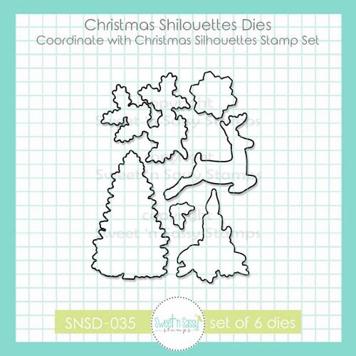 Christmas Silhouettes Die Set