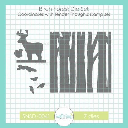 Birch Forest Die Set