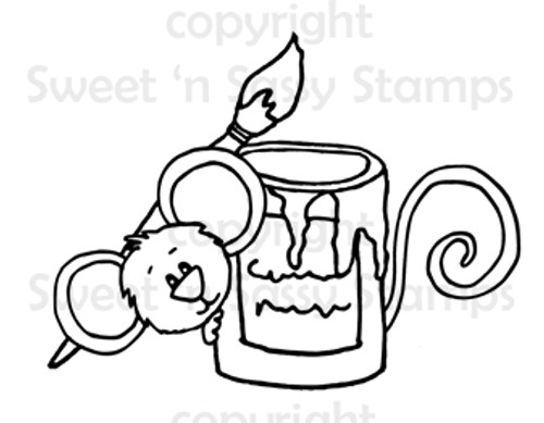 Cocoa's Paint Can Digital Stamp