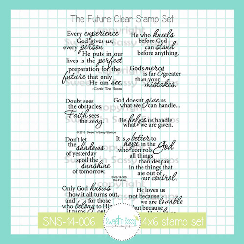 The Future Clear Stamp Set