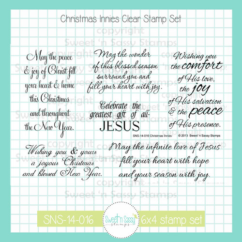 Christmas Innies Clear Stamp Set