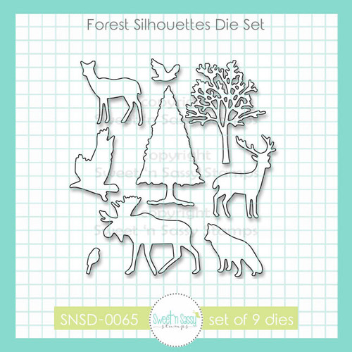 Forest Silhouettes Die Set