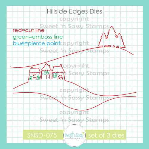 Hillside Edges Die Set