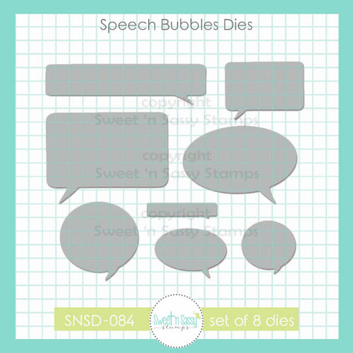 Speech Bubbles Die Set