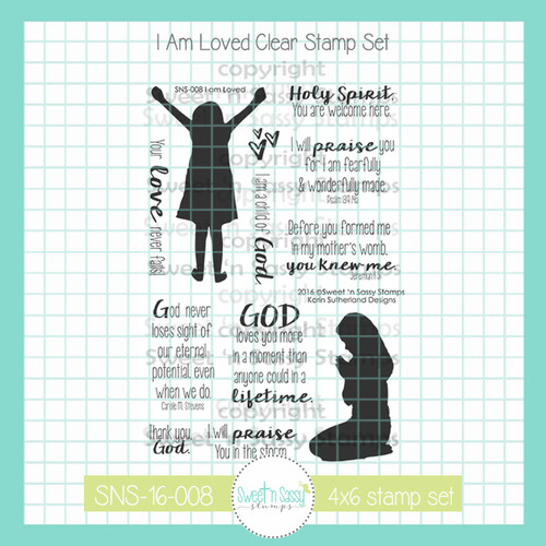 I am Loved Clear Stamp Set