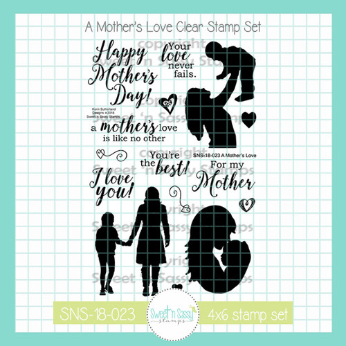 A Mother's Love Clear Stamp Set