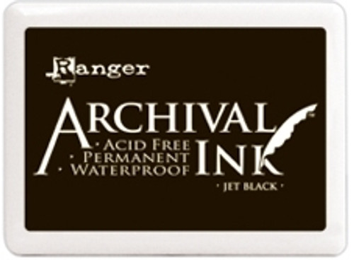 Archival Jet Black Ink Pad