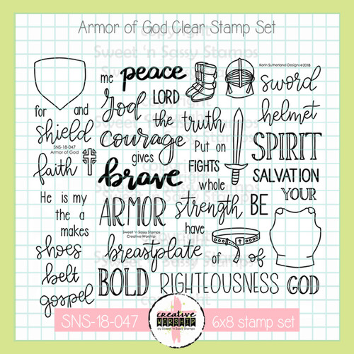 Creative Worship: Armor of God Clear Stamp Set