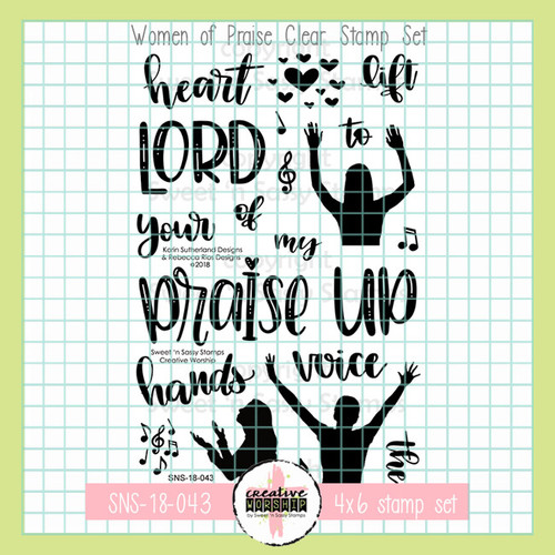 Creative Worship: Women of Praise Clear Stamp Set