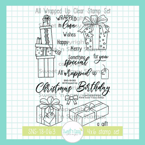 All Wrapped Up Clear Stamp Set