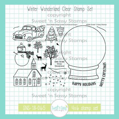 Winter Wonderland Clear Stamp Set