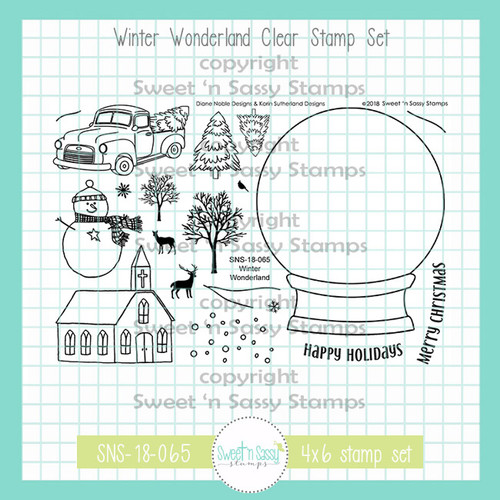 Winter Wonderland Clear Stamp Set