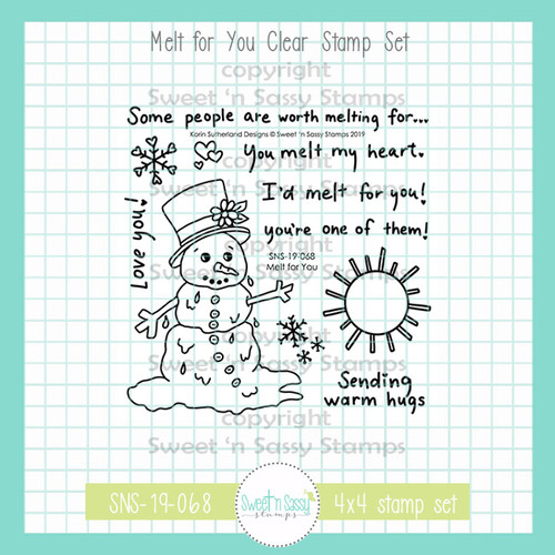 Melt for You Clear Stamp Set