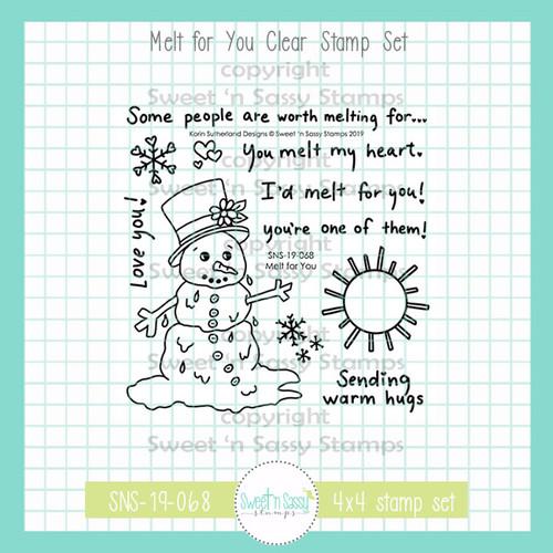 Melt for You Clear Stamp Set