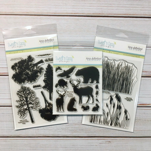Woodland Stamp Set Bundle