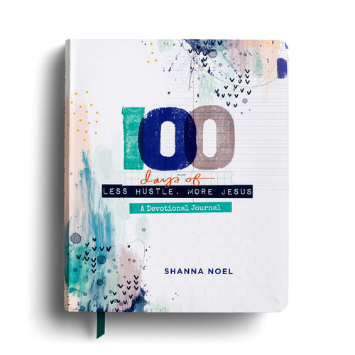 100 Days of Less Hustle, More Jesus Devotional Journal