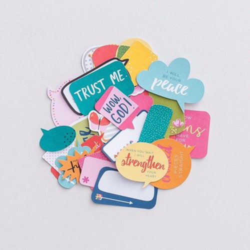 Illustrated Faith - Messages From God Die Cuts