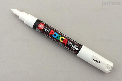 Uni Posca White Paint Pen Marker