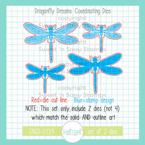 Dragonfly Dreams Die Set